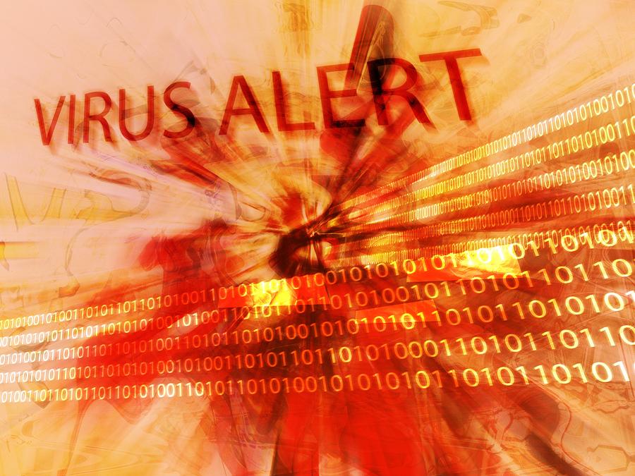 virus alert, computer security